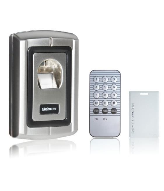 sebury zutrittskontrolle f r rfid transponder und fingerpring. Black Bedroom Furniture Sets. Home Design Ideas